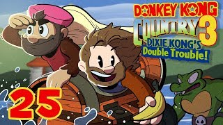 Donkey Kong Country 3 | Let's Play Ep. 25 | Super Beard Bros.