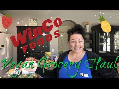 HUGE Grocery Haul!   Vegan & Prices Shown!   Winco Foods
