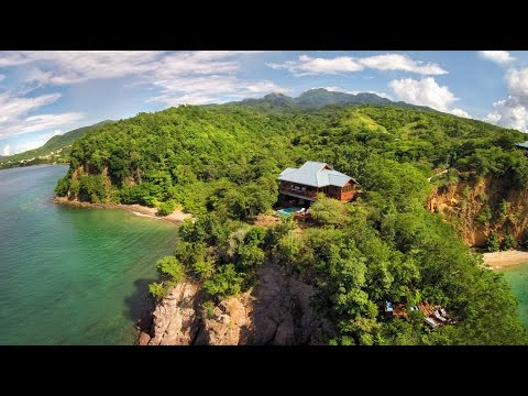 Secret Bay, Dominica - Top Rated Caribbean Honeymoon Eco-Luxury Resort
