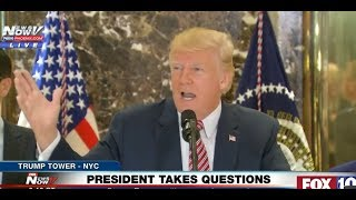 Trump Asks Media Which Statue Leftists Are Going to Topple: George Washington? Thomas Jefferson?