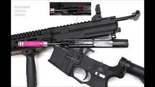 lonex M4 GBBR Airsoft Riffle( GBBR  )