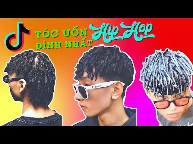 Tóc Nam Uốn Thời Trang Texture Kiểu Con Sâu | Phong Cách HipHop - Barbershop Vũ Trí