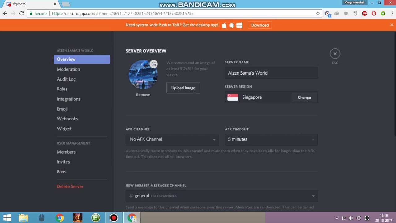how to create roles on discord