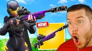 erstes Gameplay *NEUE* STURM SNIPER in Fortnite!