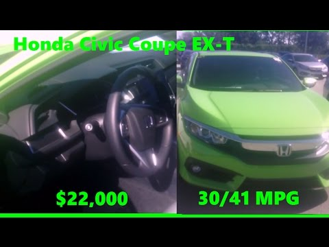 energy green sports car  honda civic coupe   fwd dr cost mpg msrp review florida orlando