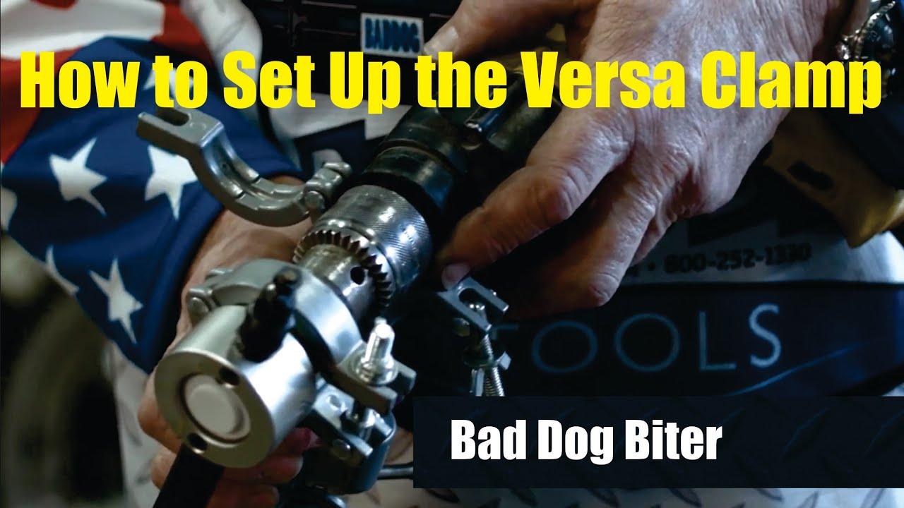 Bad Dog Tools Versa Clamp