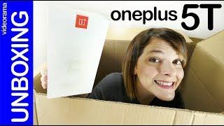 OnePlus 5T unboxing -más pantalla y MISTERIOSA dual camera- Video