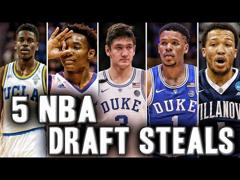 5 Players That Could Be Steals In The 2018 NBA Draft | Trevon Duval And Grayson Allen?