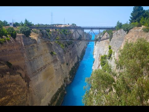 Greece Travel Part 12: Corinth Canal