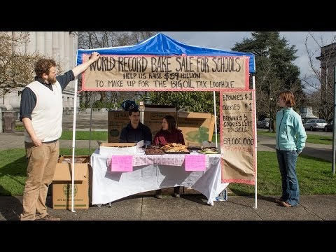 World Record Bake Sale for Schools