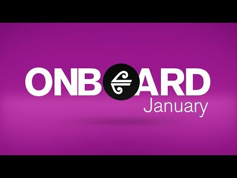 Air New Zealand In-Flight Entertainment - January