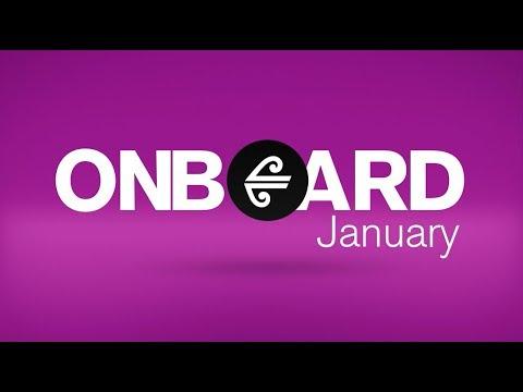 Air New Zealand In-Flight Entertainment - January