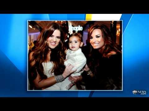 Kim Kardashian Wedding Pictures Kourtney Kardashian Demi Lovato Seen In People Magazines Photo