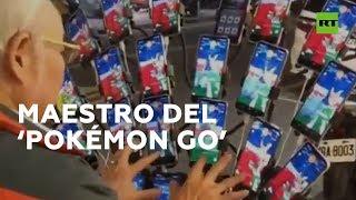 Jugar al Pokémon Go con 21 celulares a la vez | RT Play