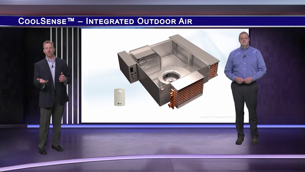 Trane Coolsense Integrated Outdoor Air System Youtube