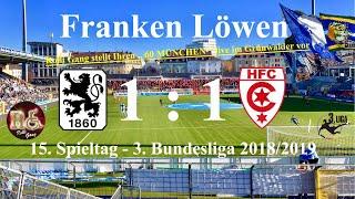 TSV 1860 München - 1:1 gegen Hallescher FC zu Hause (und der Rolli Gang Song)