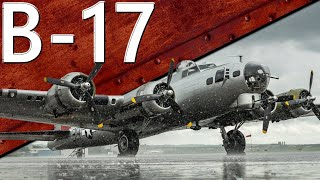 Только История: B-17. История службы и боевого применения.