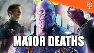CONFIRMED Major Characters WILL DIE in Avengers Infinity War
