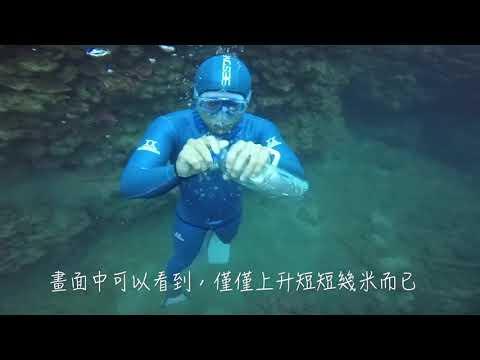 自由潛水者在水下不能接受水肺潛水者提供的氣體