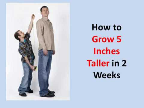 How to Grow 5 Inches Taller in 2 Weeks (Guaranteed!) - YouTube
