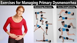 8 Best Exercises for Primary Dysmenorrhea