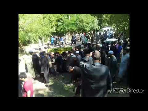 Funeral of police man Tanveer Ahmed, who was killed in a militant attack in Pampore yesterday.
