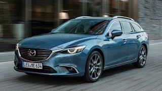 2017 Mazda6 Wagon - Blue Reflex Exterior, Interior and Drive