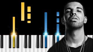 Drake ft. Michael Jackson - Dont Matter to Me - Piano Tutorial / Piano Cover