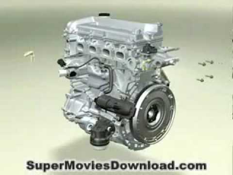 EXACTLY how a car engine works 3D animation ! - YouTube