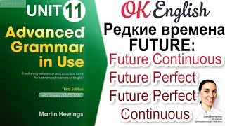 Unit 11 Редкие времена FUTURE: Future Continuous, Future Perfect и Future Perfect Continuous