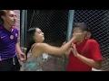 El desenlance: Le tortearon la cara al novio