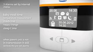 Chicco Top Audio Digital Baby Monitor - Demonstration Video   Babysecurity