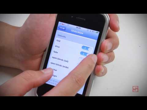 [iPhone - Cydia App] Unlockize - Hiệu ứng mở màn hình khóa độc đáo - CellphoneS
