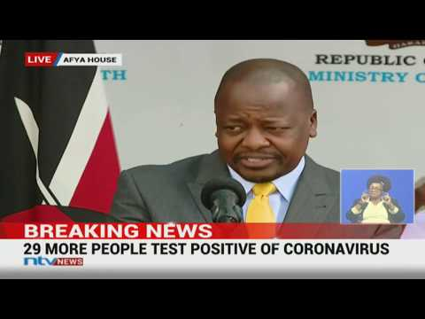 Coronavirus In Kenya: 2 Deaths, 29 More Cases Reported || #COVID19Pandemic