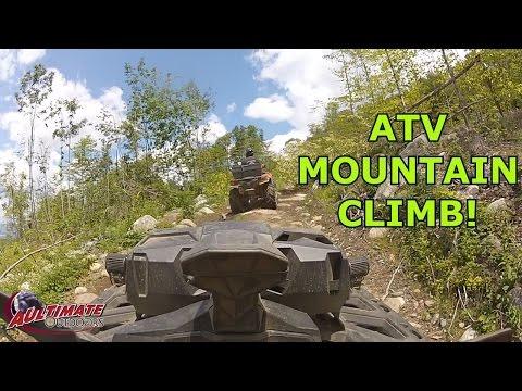 ATV MOUNTAIN CLIMB....ROCKY MOUNTAIN TERRAIN PARK...NEW ENGLAND TRIP PT 6