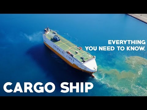 Cargo / Container Ship Travel Guide: Everything you need to
