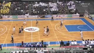 高校バスケ選抜大会2012 男子3位決定戦 北陸 vs 洛南 thumbnail