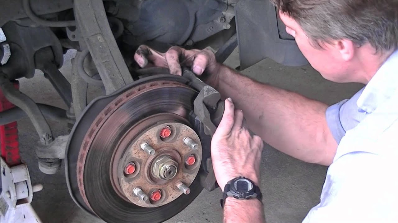 Brake Pad Replacement 90 Honda Accord Youtube