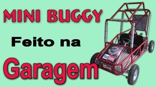 como fazer um Mini Buggy caseiro parte 1/2,  How to build a go kart,  fazer um Kart
