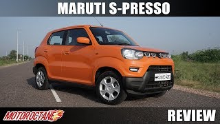 Maruti S Presso Review | Hindi | MotorOctane