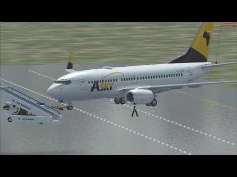 vol Douala à Brazzaville Boeing 737 700 Asky vol commenté
