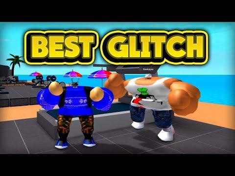 THE BEST GLITCH! (ROBLOX Weight Lifting Simulator 2)
