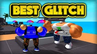THE BEST GLITCH! (ROBLOX Weight Lifting Simulator 2)