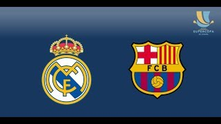 Download Video SUPERCOPA Spain : REAL MADRID - BARCELONA / LIVE STREAM MP3 3GP MP4