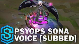 Voice - PsyOps Sona [SUBBED] - English