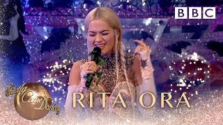 Rita Ora sings Let You Love Me - BBC Strictly 2018