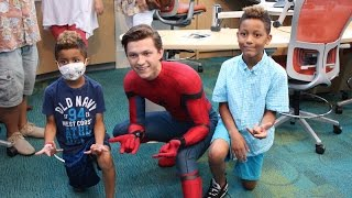 Seacrest Studios Atlanta Welcomes Spider-Man! thumbnail