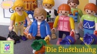 Playmobil Film Deutsch DIE EINSCHULUNG ♡ Playmobil Geschichten mit Familie Miller