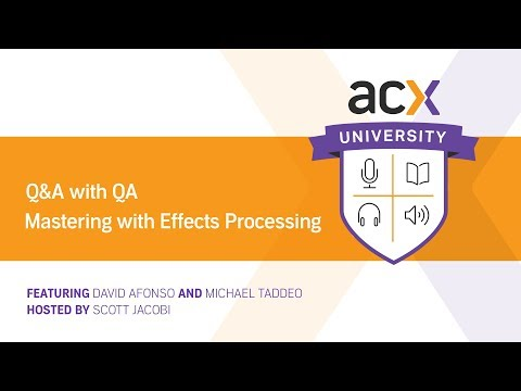 Q&A With QA: Mastering With Effects Processing