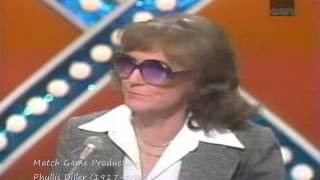 Match Game Synd. Episode 86 (RIP Phyllis Diller)